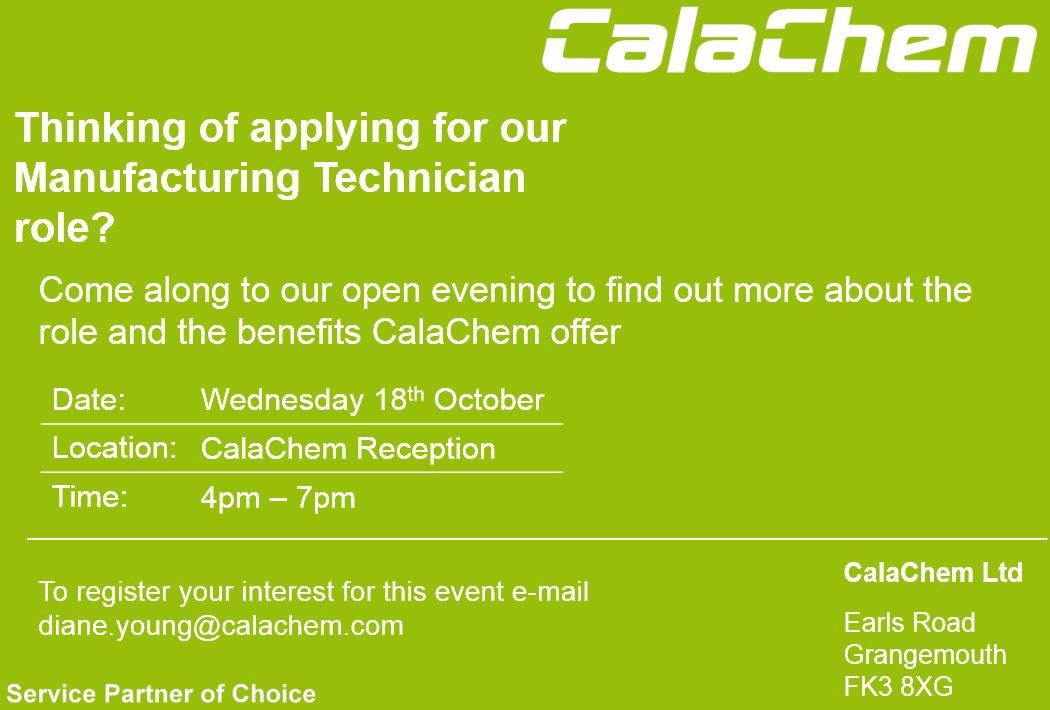 Events Archives | CalaChem Fine Chemicals